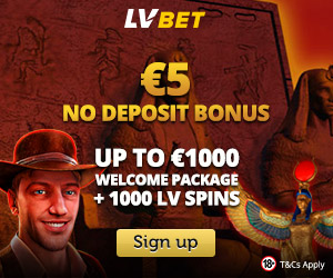 Latest bonus from LVbet Casino